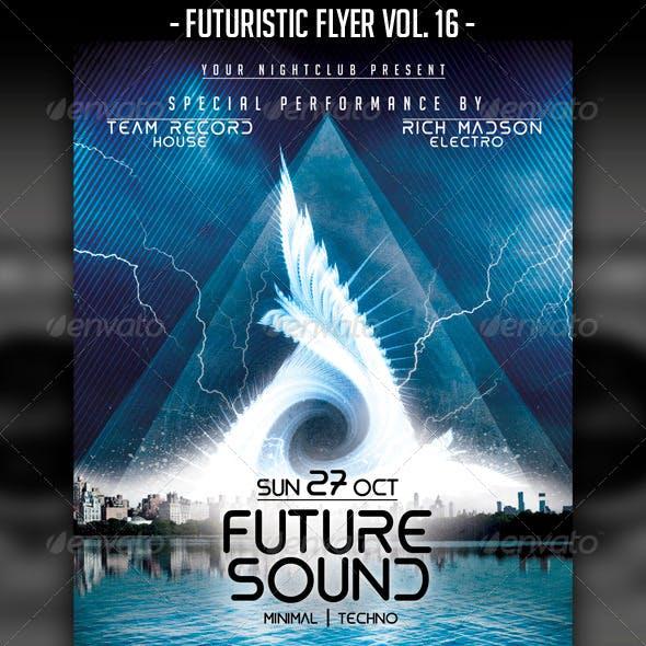 Futuristic Flyer Vol. 16
