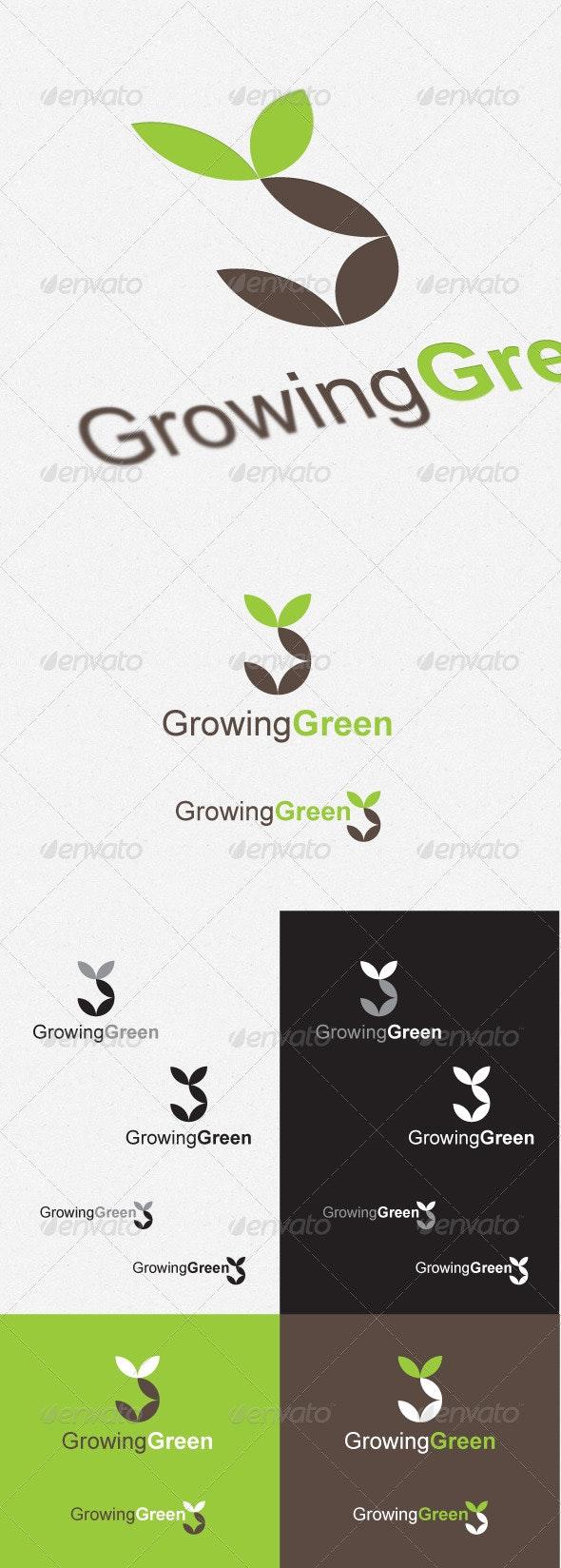 Growing Green - Logo Templates