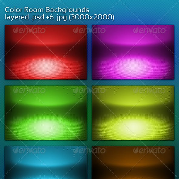 Color Room Backgrounds