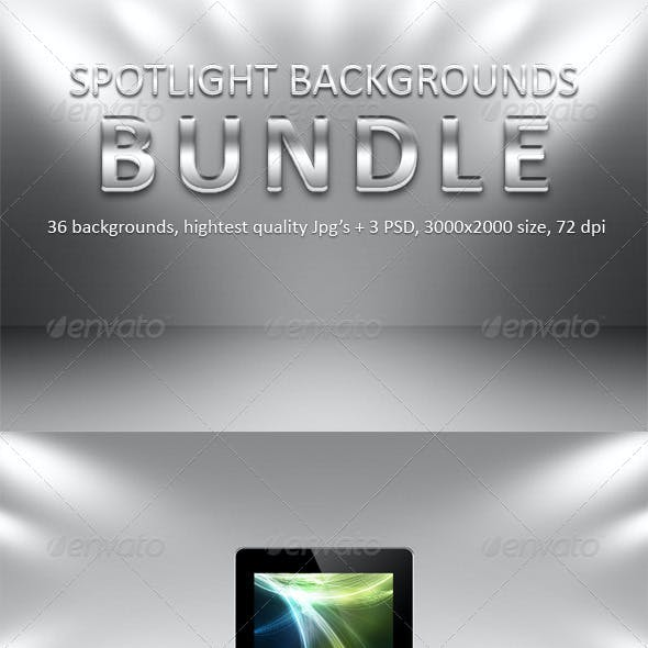 Spotlight Backgrounds Bundle