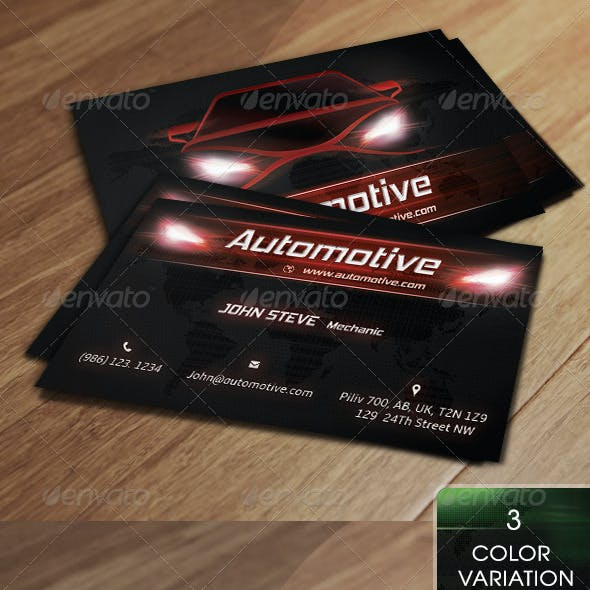 Automotive Business Card v2