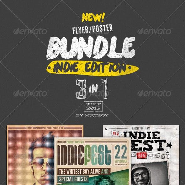 Indie Flyers/Posters Bundle