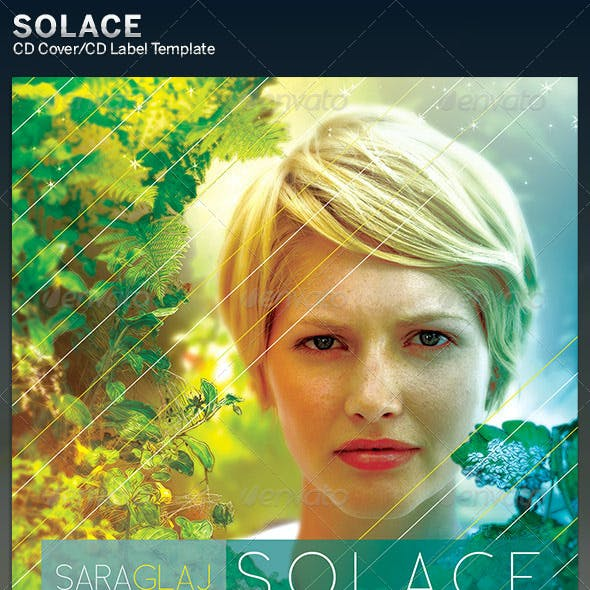 Solace: CD Cover Artwork Template
