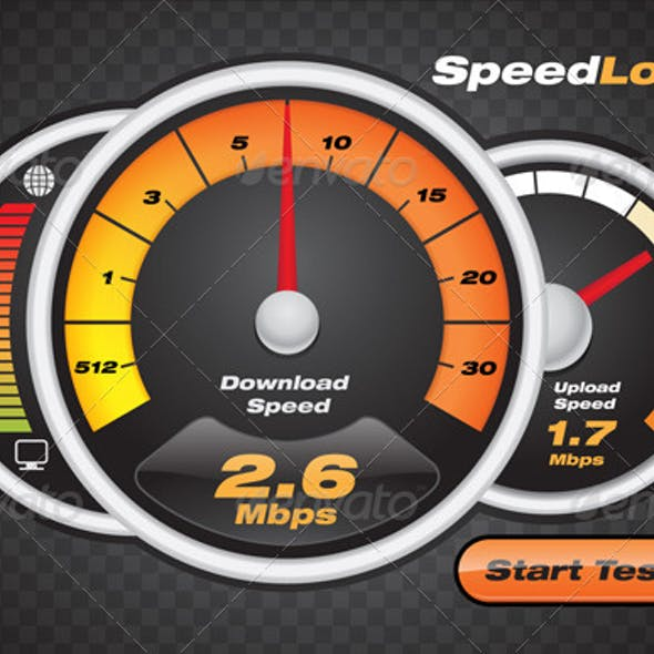 Internet Speed Test Dashboard