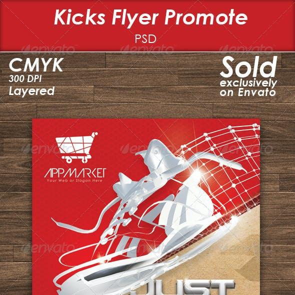 Kicks Flyer Template