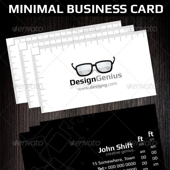 Minimal Creative Business Card Template