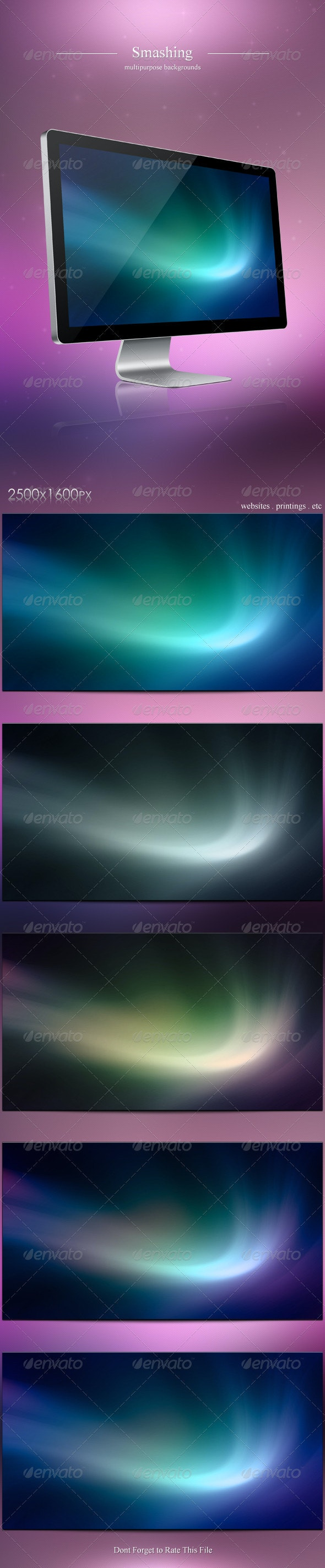 5 Smashing Backgrounds - Backgrounds Graphics