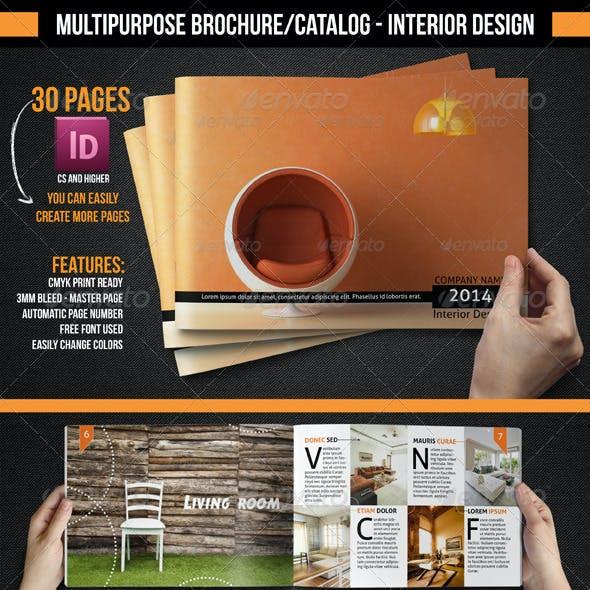 Multipurpose Brochure/Catalogue - Interior Design