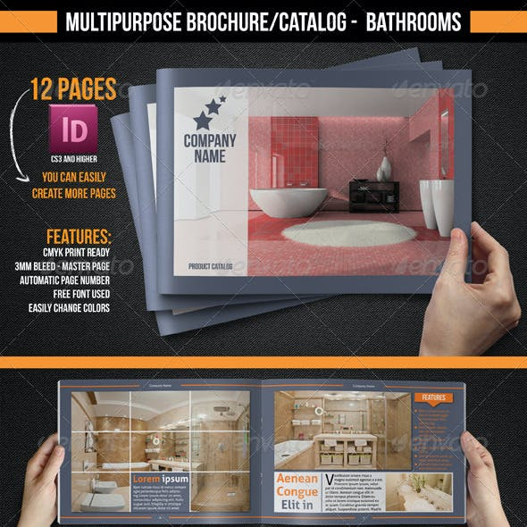 Multipurpose Brochure/Catalogue - Bathrooms