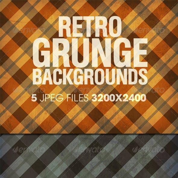 Retro Grunge Backgrounds