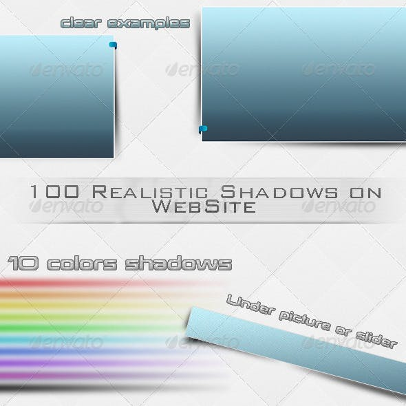 100 Shadows on WebSite