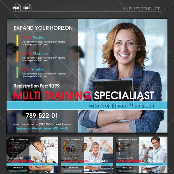 Business Tranining Specialist - Flyer Template