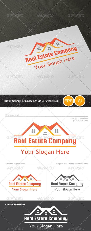 Real Estate Company Logo - Buildings Logo Templates