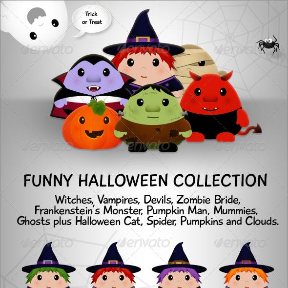 Funny Halloween Collection