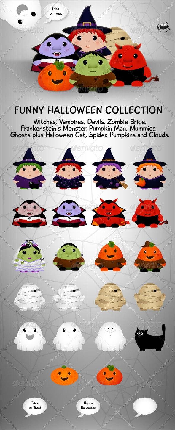 Funny Halloween Collection - Halloween Seasons/Holidays