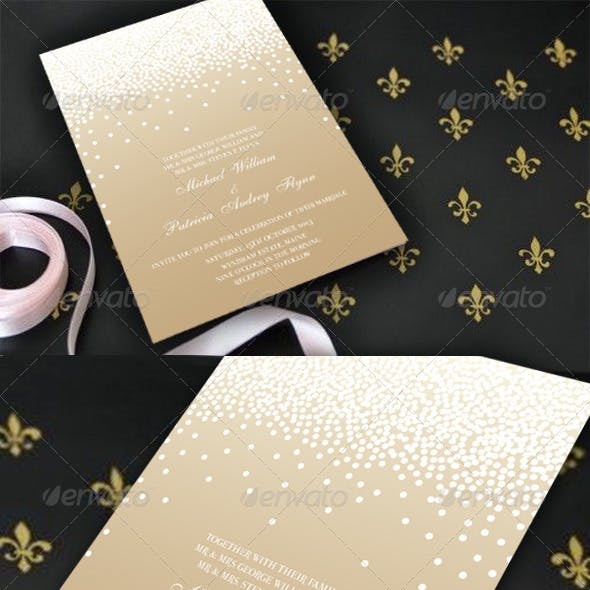 Magical Wedding Invitation