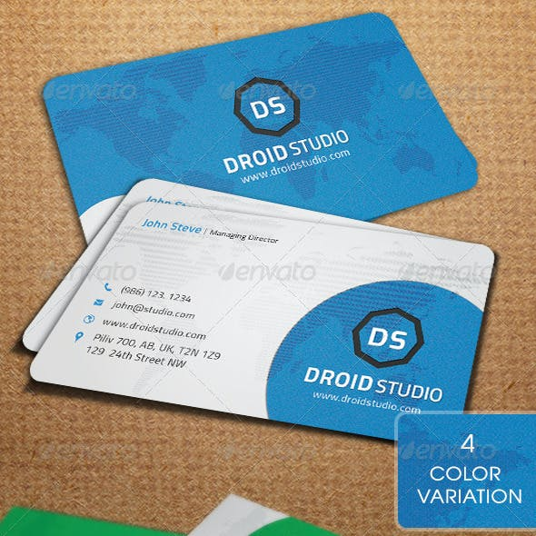 Corporate Business Card v10