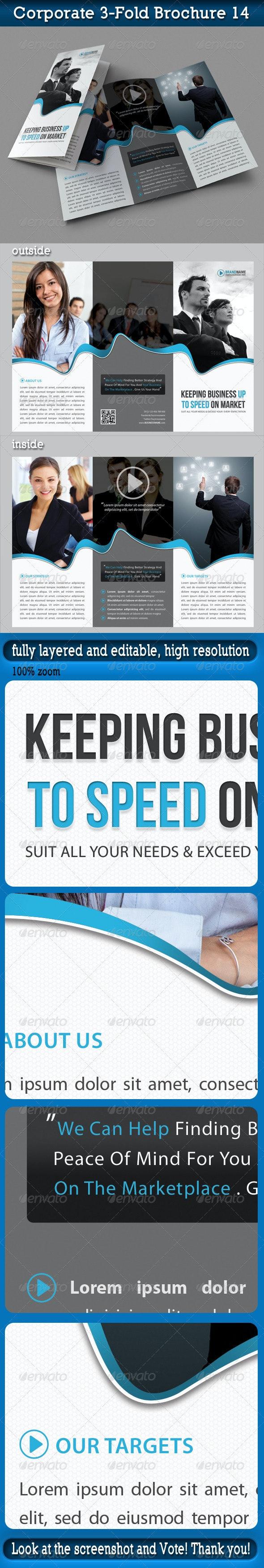 Corporate 3-Fold Brochure 14 - Corporate Brochures