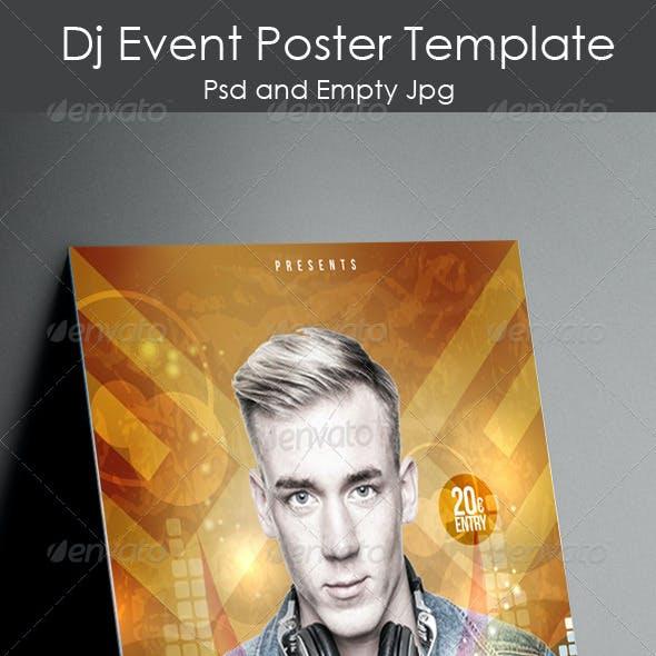 Dj Event Poster Template