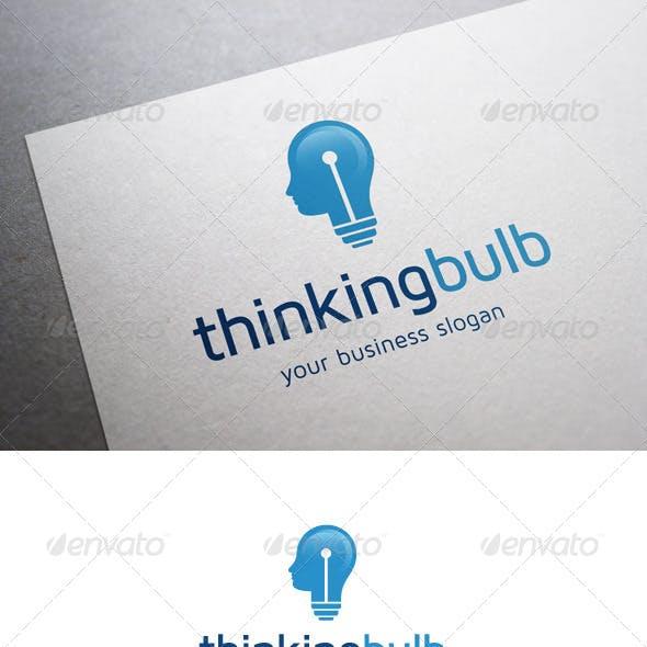Thinking Bulb Logo