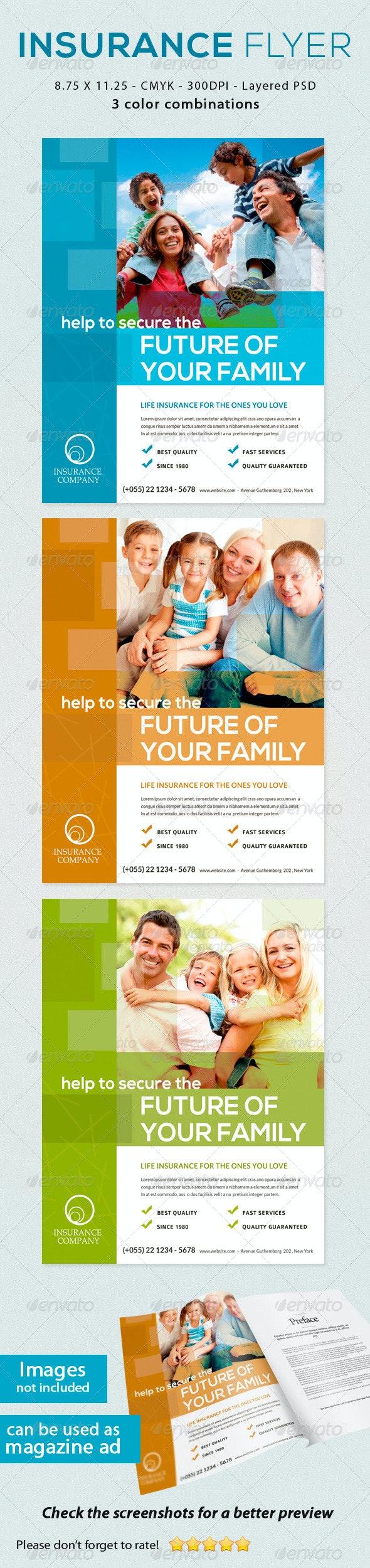 Insurance Flyer - Print Templates