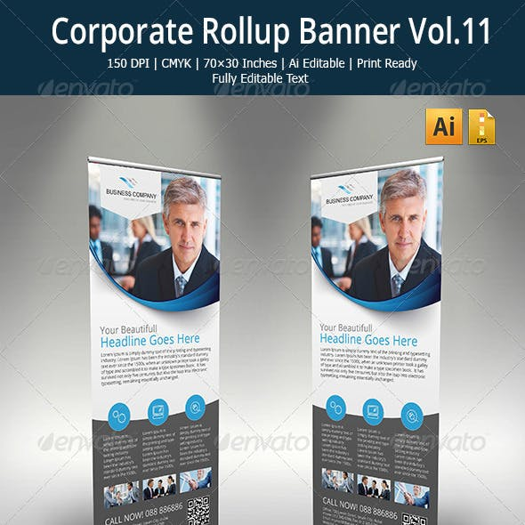Corporate Roll-up banner - 11