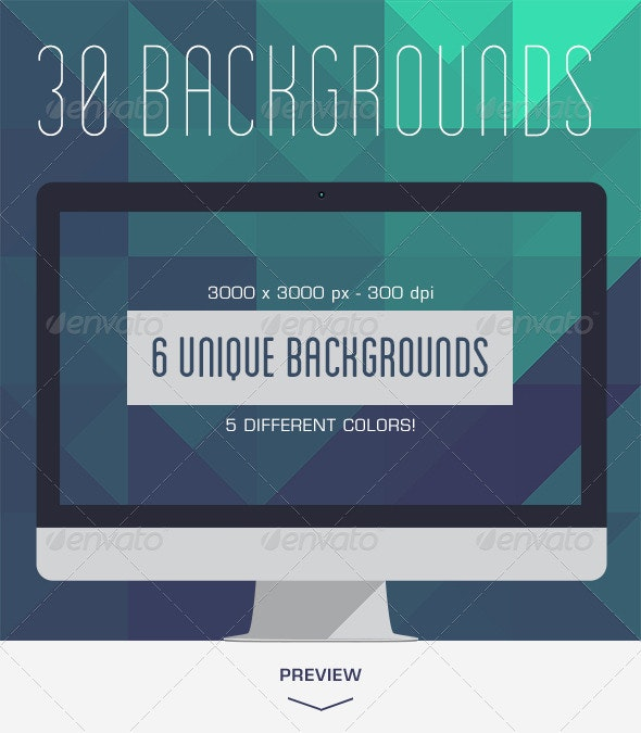 30 Abstract Geometric Backgrounds - Backgrounds Graphics