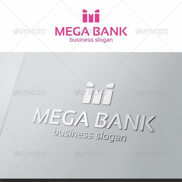 Mega Bank - M Logo