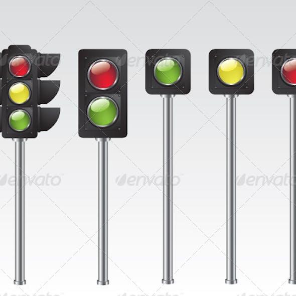 Traffic Light Illustration