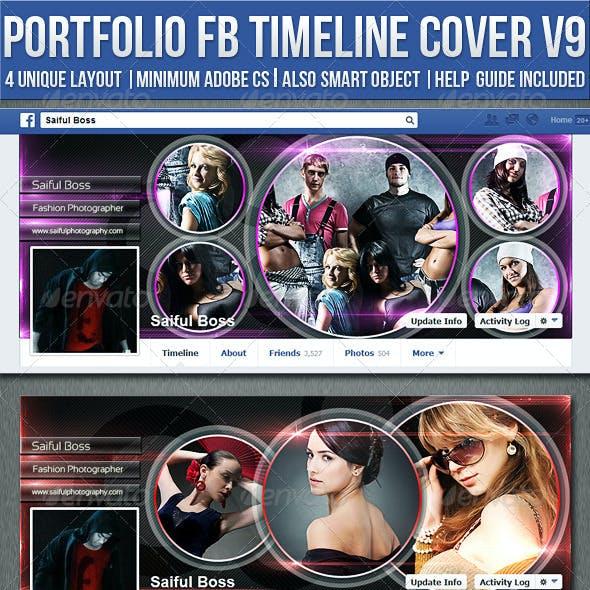 Portfolio Facebook Timeline Cover V9