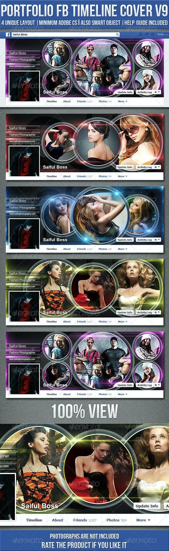 Portfolio Facebook Timeline Cover V9 - Facebook Timeline Covers Social Media