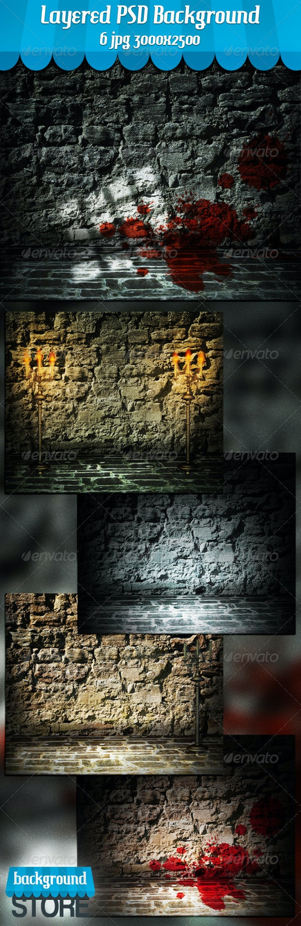 Stone Interior Background - Miscellaneous Backgrounds