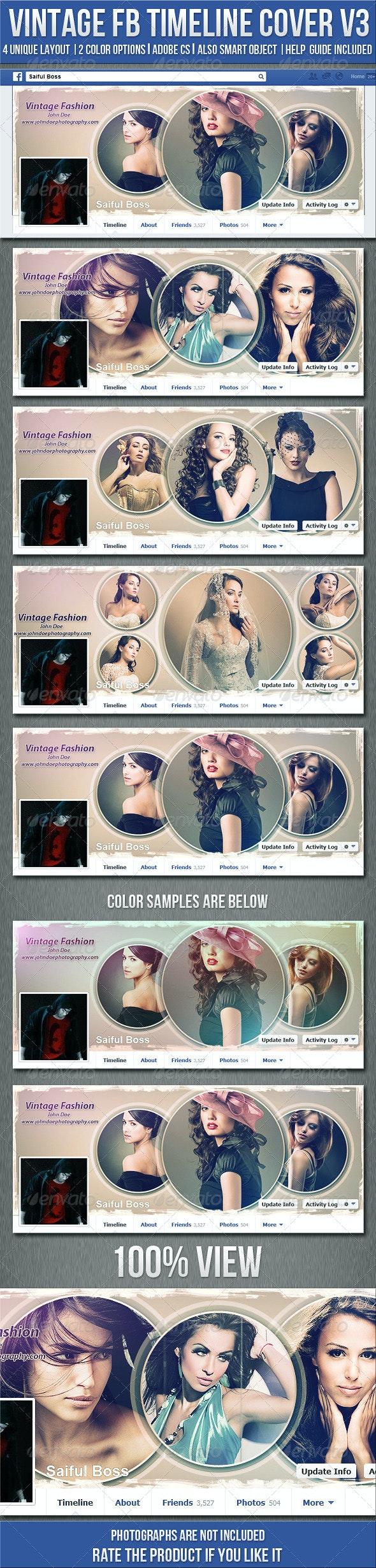 Vintage Photography Facebook Timeline Cover V3 - Facebook Timeline Covers Social Media