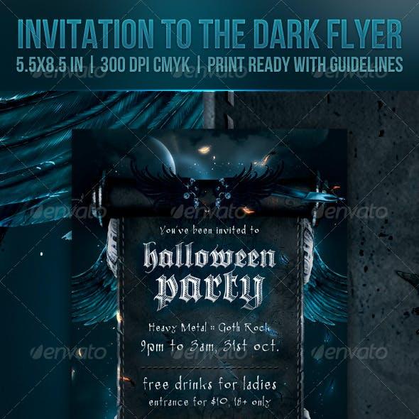 Invitation to the Dark Flyer