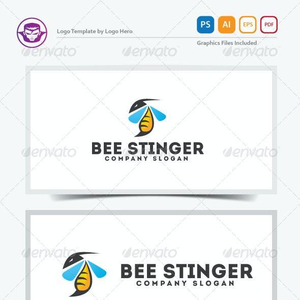 Bee Stinger Logo Template