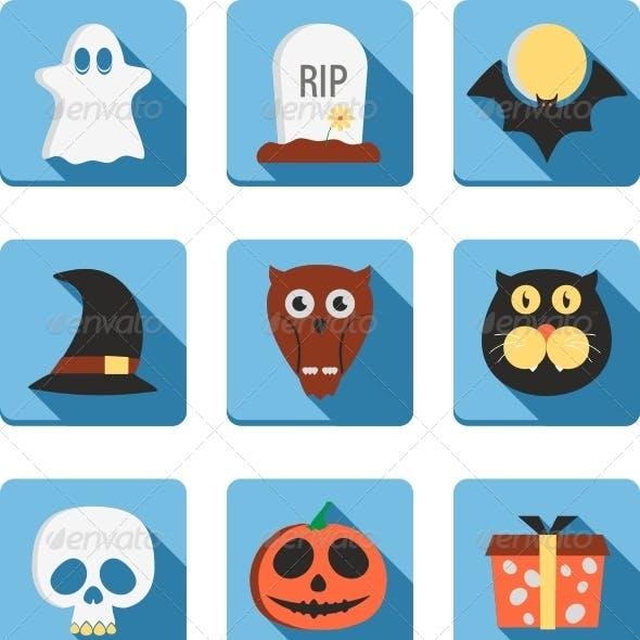 Cute Halloween Icon