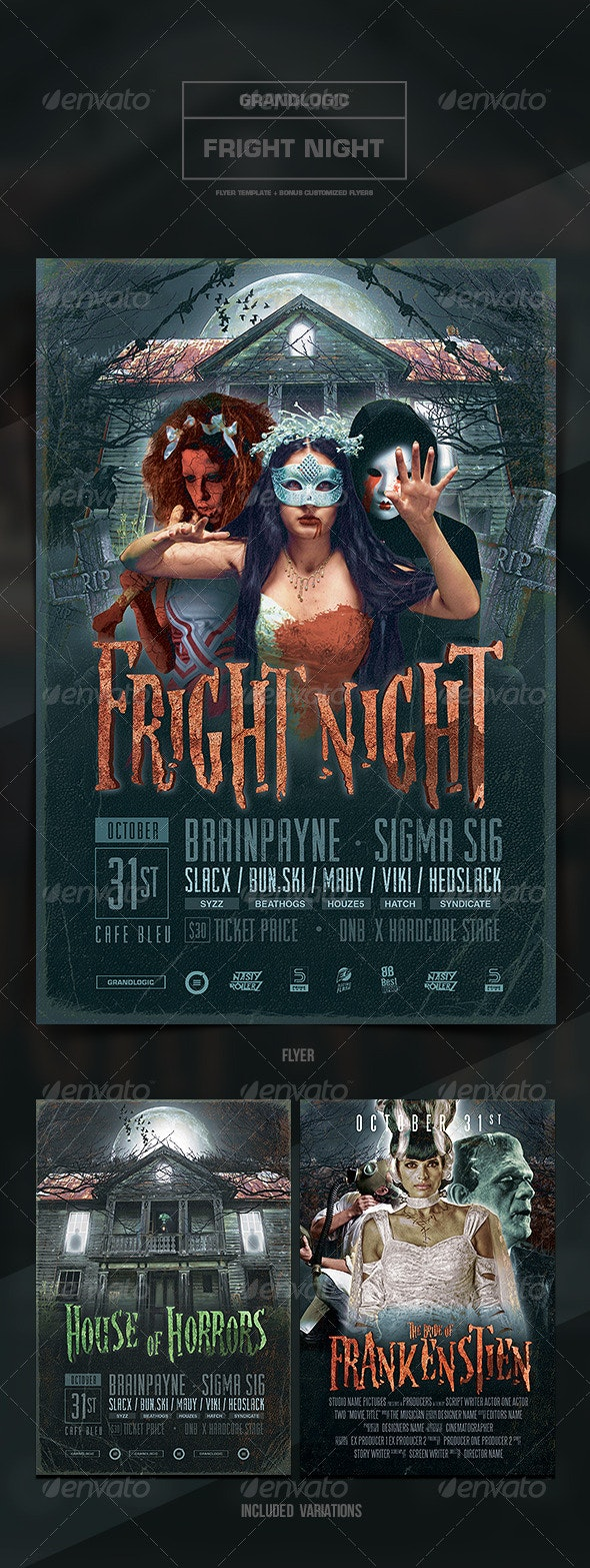 Halloween Flyer/Poster - Print Templates
