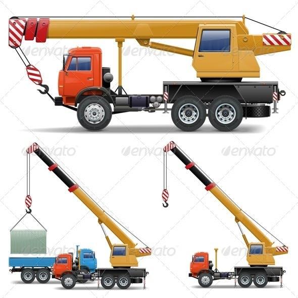 Vector Construction Machines Set 5
