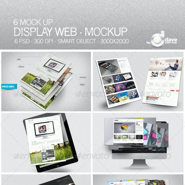 Display Web - Mockup
