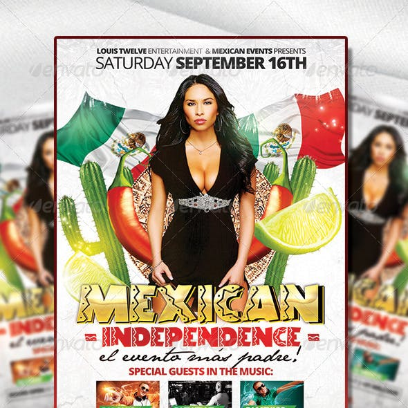 Mexican Independence | Flyer Template
