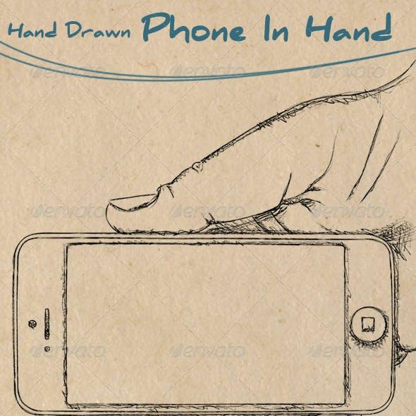 Hand Drawn Phone