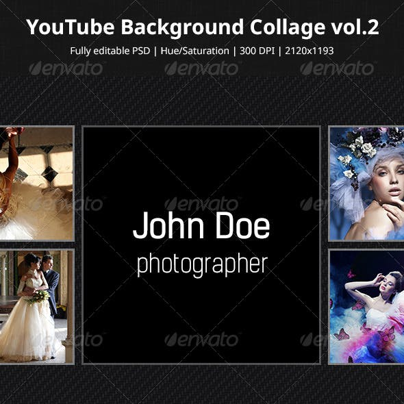 YouTube Background Collage vol.2