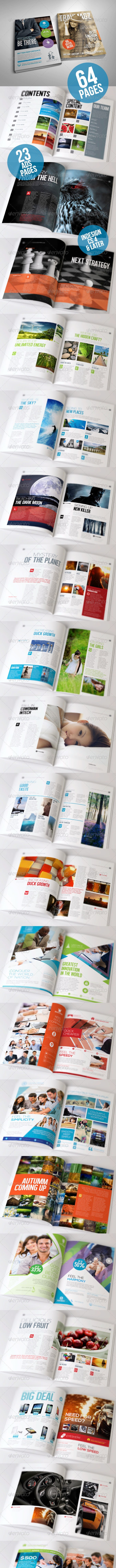 Simple Magazine Volume II - Magazines Print Templates