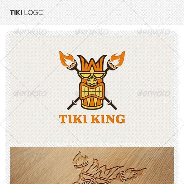 Tiki King Logo Template