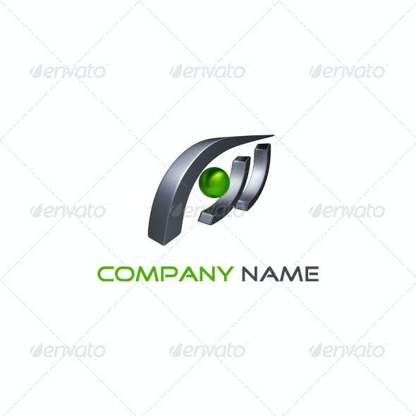 3D Abstract Logo - 001