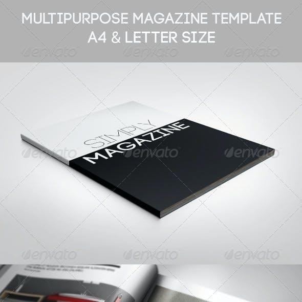 Multipurpose Simply Magazine