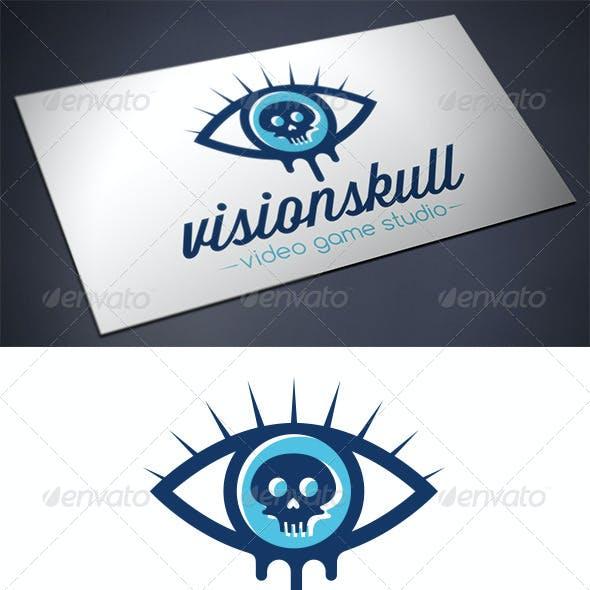 Skull Eye Logo Template
