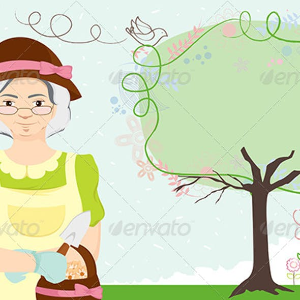 Gardening Lady