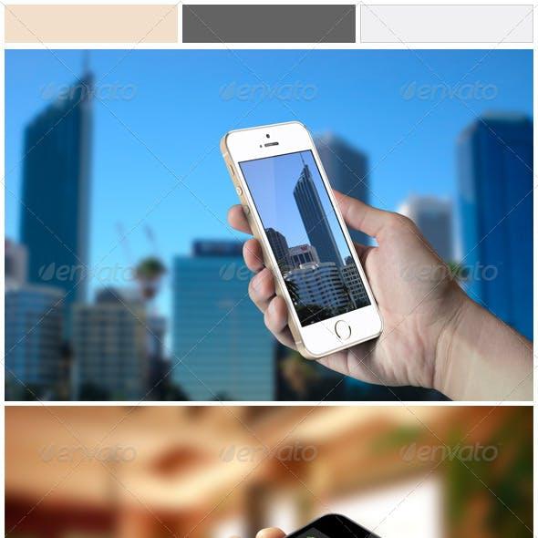 Phone 5s Mockups