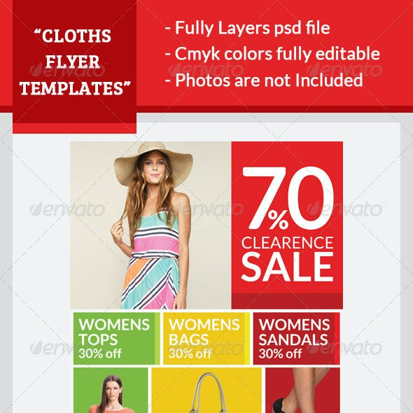 Garments Flyer Template